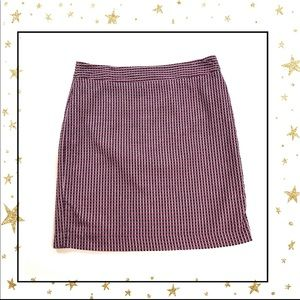 Ann Taylor Sz 14 100% cotton a-line mini skirt(D3)